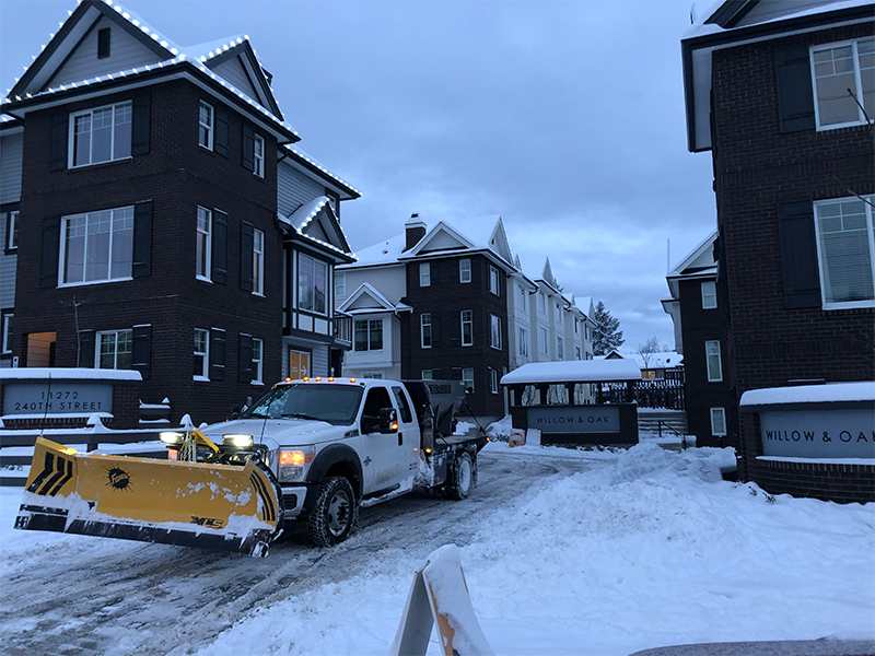 Snow Removal | Snow Removal Services | Strata Snow Removal